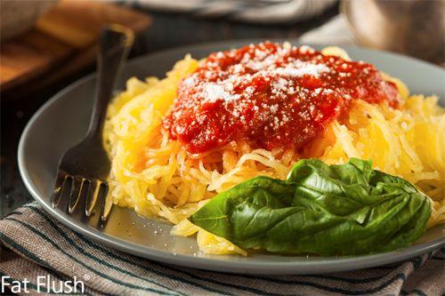 Chicken Cacciatore with Spaghetti Squash- Official Fat Flush Recipe