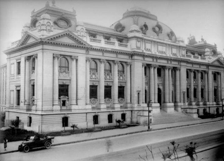 Biblioteca Nacional en los años veinte