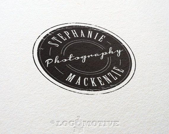 Photography Logo Design Premade Logo Custom Logo by Logomotive, $30.00