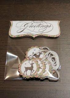 Christmas Gift Tags - Stampin' Up