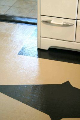 1000 images about kitchen on pinterest breakfast nooks for Can you paint linoleum floors