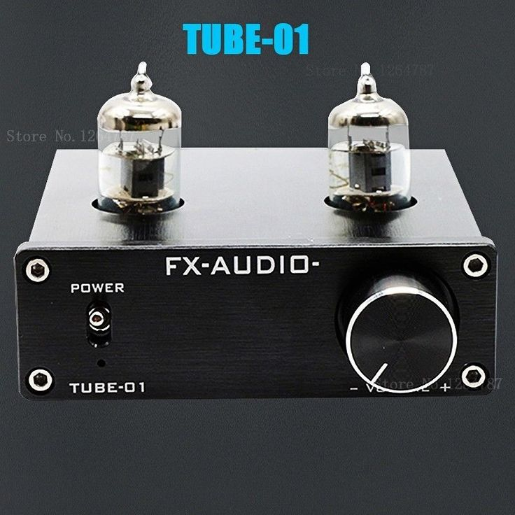 Mini 6J1 Valve & Vacuum Tube Pre-Amplifier Stereo HiFi Buffer Preamp +POWER