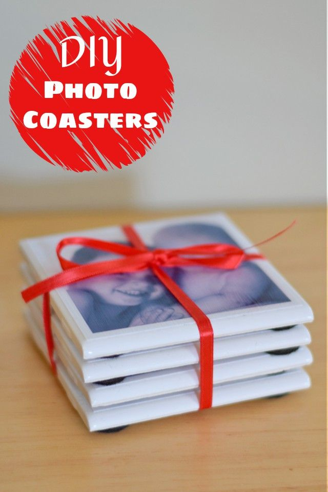 DIY Photo Coasters are easy to make and are a great personal crafty gift for the person who has everything. This tutorial shares step by step how to create them using the HP Social Media Snapshots sticky backed photo paper so they look professional when you #StickAPic. They're inexpensive to make and don't take much time, an added bonus when making a Christmas gift during this busy holiday season! (ad)