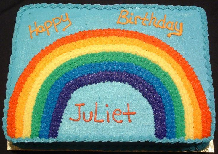 Regenbogen-Blechkuchen   Regenbogen-Blechkuchen Spagetti und Fleischbällchen Kuchen Pizza Kuchen D …   – Rainbow party