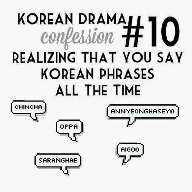 Kdrama confession #10