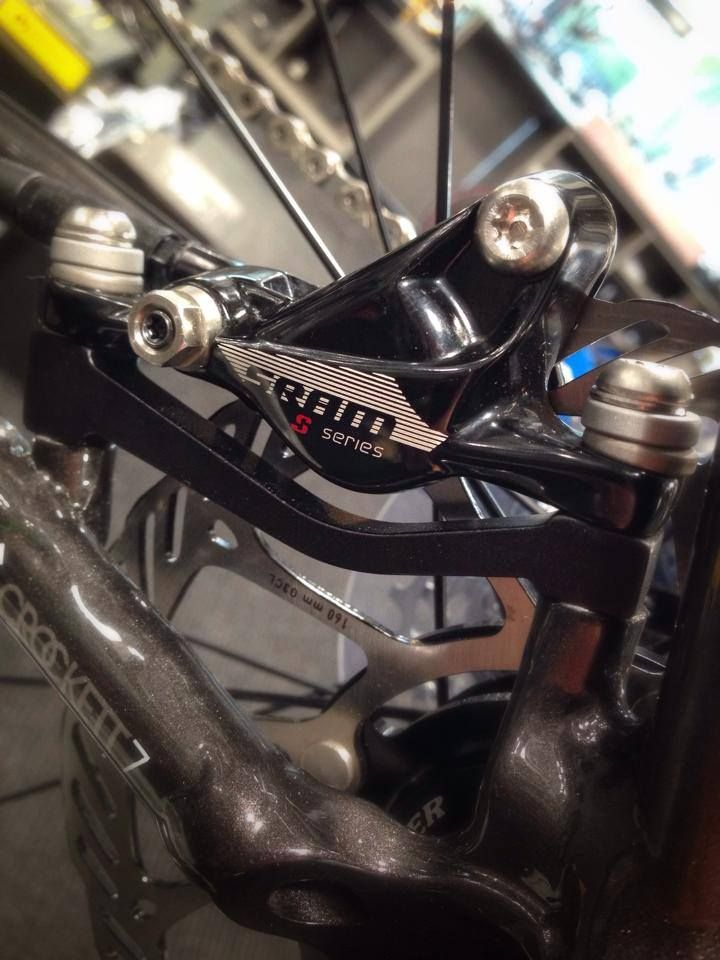 We like disc brakes on road bikes. Will it catch on?
