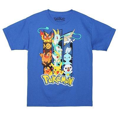 Triple Threat Boy 39 S Pokemon Black White Version T Shirt