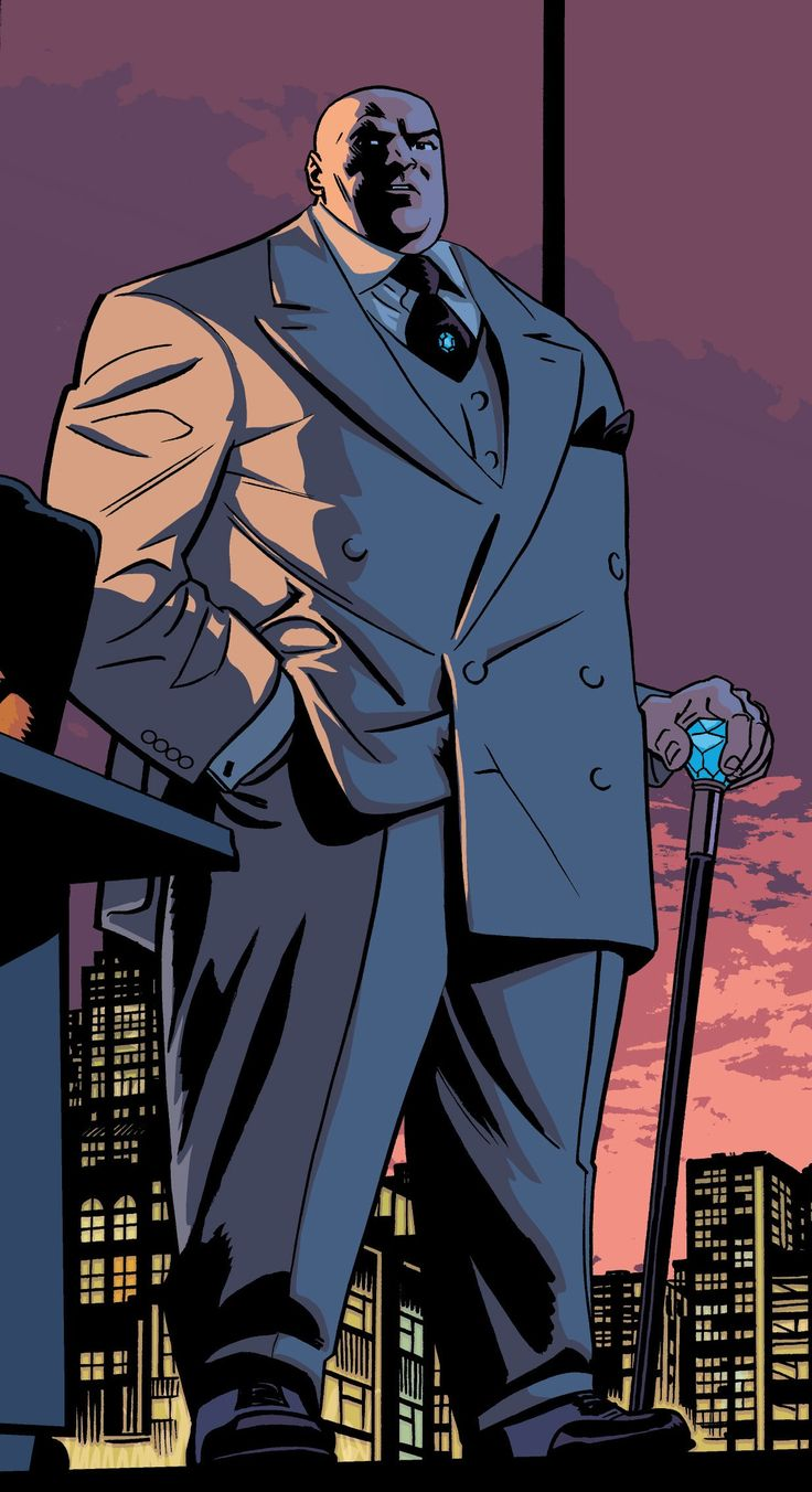 """Very little is known about the Kingpin before he first took command of the East Coast mobs. He has described himself, however as having been """"an unpopular, blubbery child"""" before he began his lifelong pursuit of bodybuilding. Wilson Fisk was impoverished as a child, and committed his first murder when he was twelve. From the start Fisk was determined to be the best in whatever he did, and he believed physical strength to be a major factor in building power in the underworld. Hence, he..."""