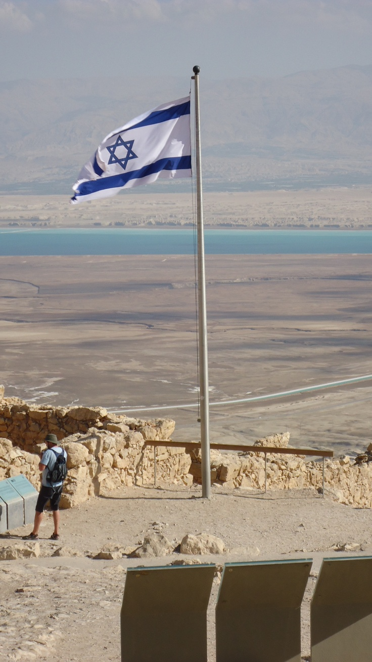 The Dead Sea view from Masada, Israel. Waiting to get back here every single day.