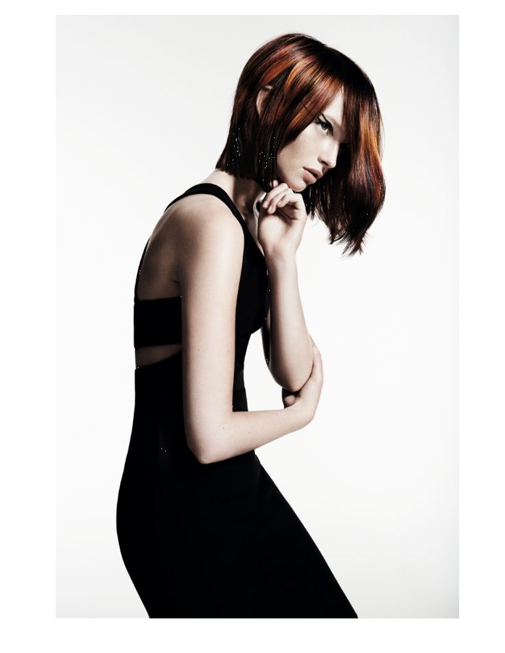 Davines Products used to create this Sleek Swan look: More Inside 'This is a Strong Dry Wax' For Defined Mat Textures; 'This is a Shimmering Mist', For Extraordinary Shine.