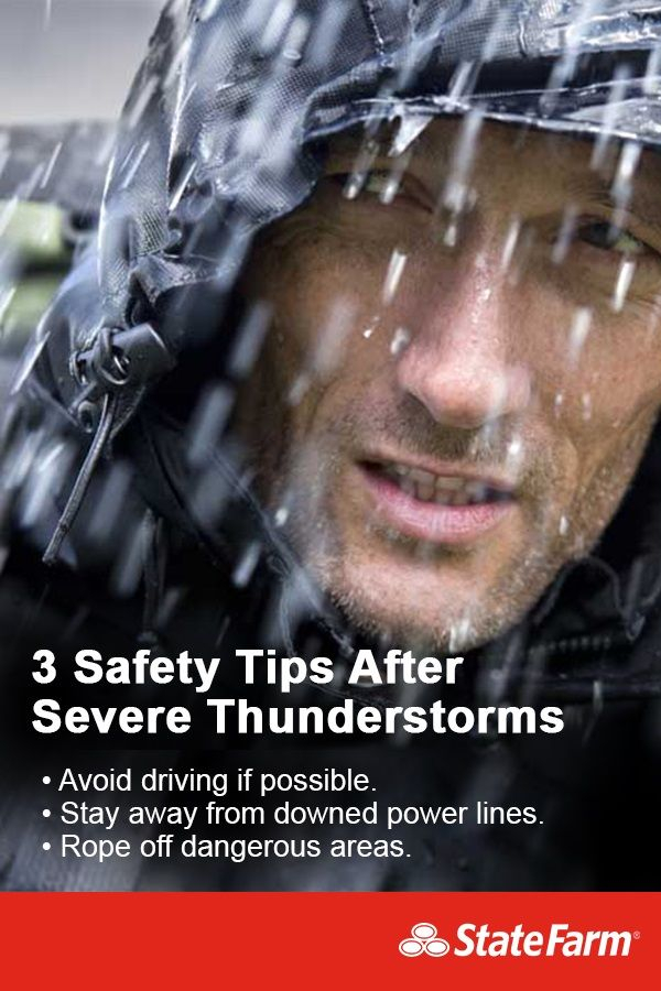 Severe weather can be dangerous—flooded roads, damage to homes, downed power lines and more. Here are some precautions to follow in the aftermath of severe storms.