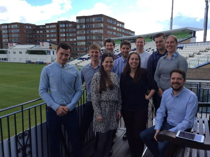 The #Nutshell team enjoying a day out at the local #Cricket ground. #Construction #Sussex