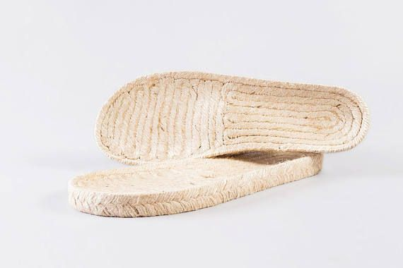 PRESALE OFFER espadrille jute soles  M14  anatomical bio