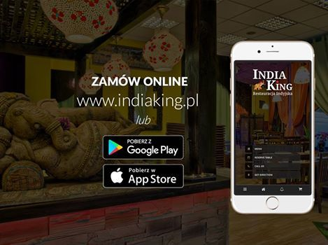 ❤❤ https://www.indiaking.pl/order-online.html  ❤❤ Możecie składać zamówienia poprzez naszą mobilna aplikacje lub przez stronę internetową.  Aplikacja dostępna na ios oraz android. Zachęcamy do skorzystania :-)
