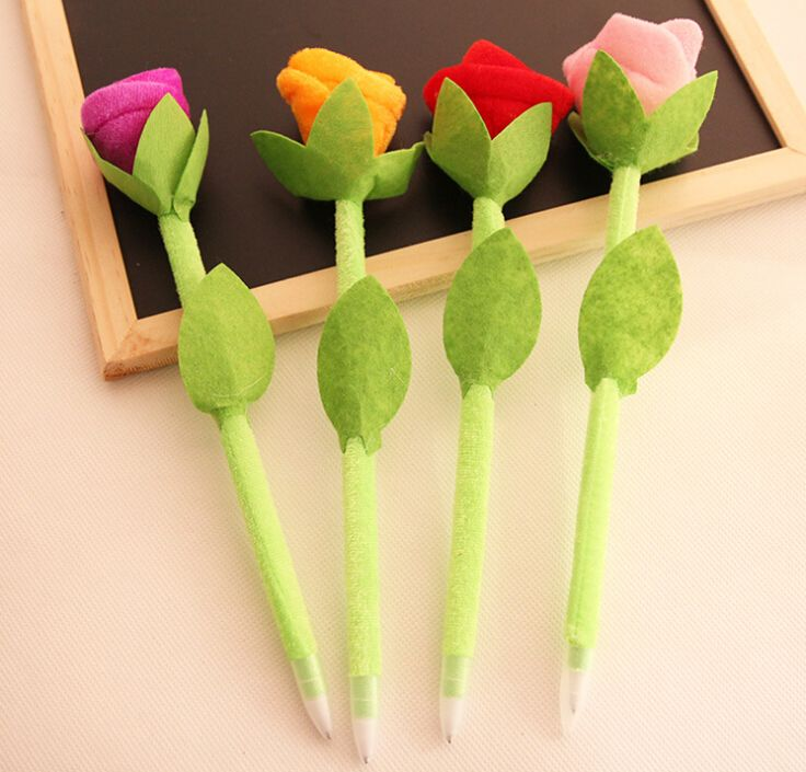 Wholesale school supply New Novelty Plush Rose craft Ball Point Writing Pen for Promotion, View craft Ball Point pen, DESIGN Product Details from Yiwu Design Import&Export Ltd. Company on Alibaba.com
