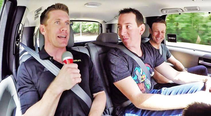Country Music Lyrics - Quotes - Songs Nascar - NASCAR Takes On 'Carpool Karaoke' With Hysterical Parody - Youtube Music Videos http://countryrebel.com/blogs/videos/nascar-takes-on-carpool-karaoke-with-hysterical-parody