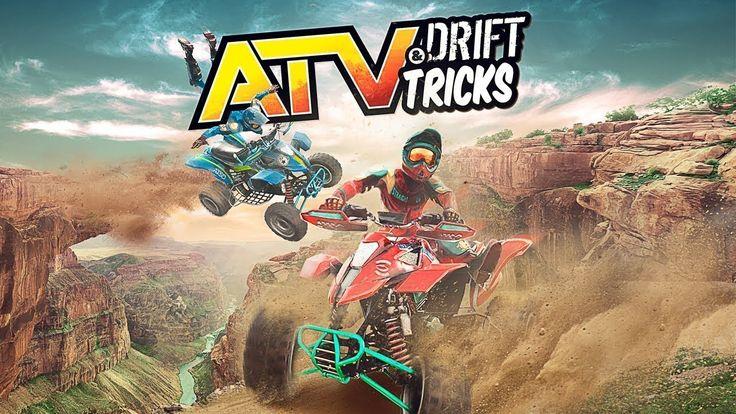 تجربة لعبة سباق الدراجات النارية / 2017 ATV Drift and Tricks GamePlay PC HD