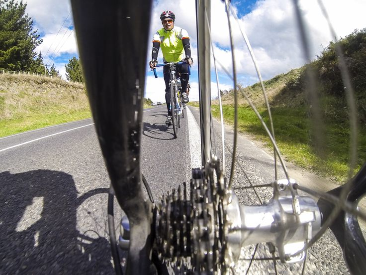 A participant of the Round Taupo Cycle challenge training weekend.