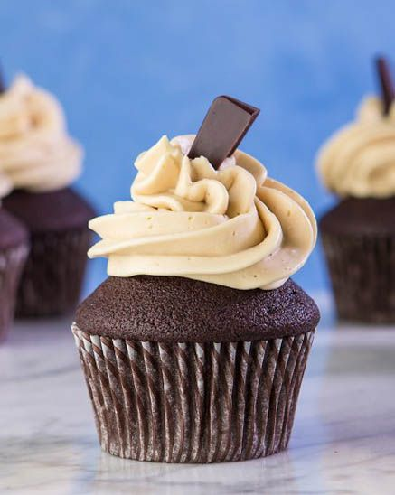 Chocolate Mocha Gluten Free Cupcakes