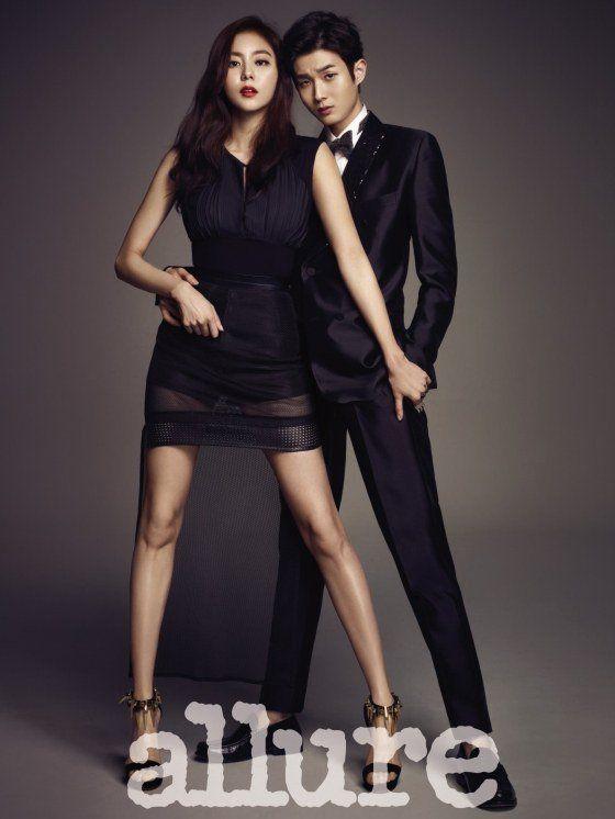 UEE and Choi Woo Shik strike a sexy pose
