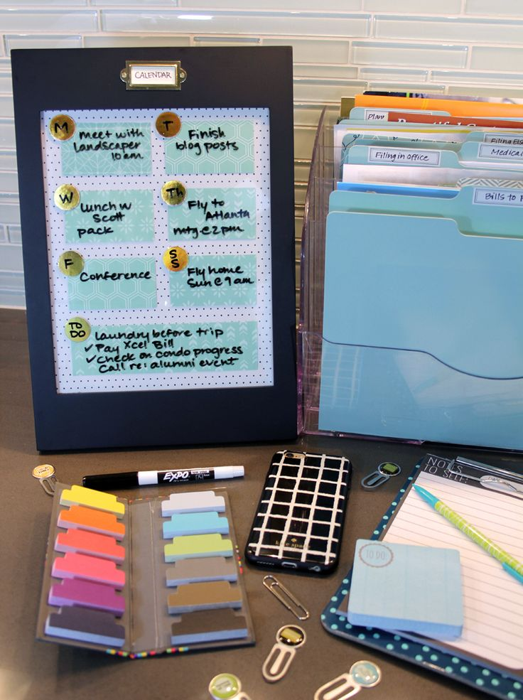 Diy Dry Erase Memo Board Framed Scrapbook Paper