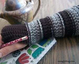 All Grown Up Arm Warmers and more marvelous crochet fingerless mitts patterns - love these! {mooglyblog.com}