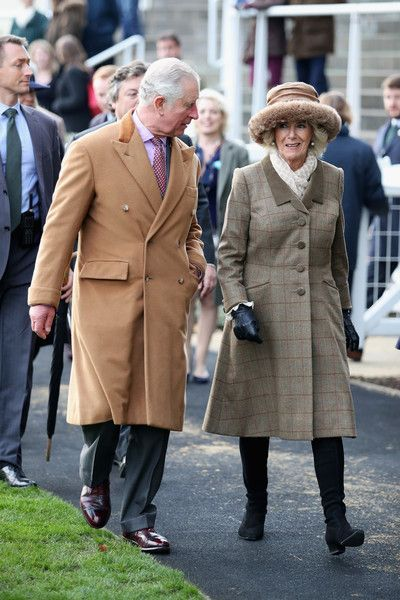 Camilla Parker Bowles Photos - Prince Charles, Prince of Wales and Camilla, Duchess of Cornwall are seen at the Prince's Countryside Fund Raceday as they depart Ascot Racecourse on November 24, 2017 in Ascot, England. - The Prince of Wales and Duchess of Cornwall Attend The Prince's Countryside Fund Raceday