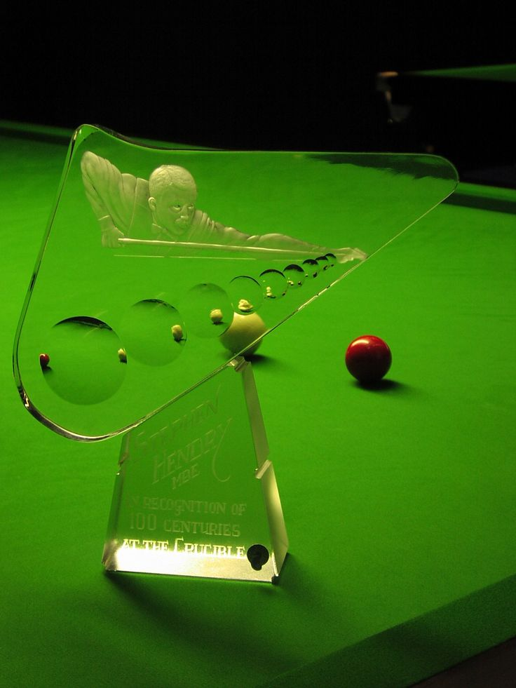 Stephen Hendry -  100 centuries at the Crucible by G.Sullivan