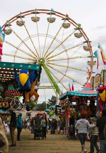 The Spokane County Interstate Fair is September 6th-15th. It is located at the fair grounds and offers rides, food, and other fun activites.