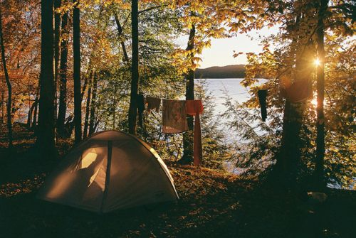 fall camping #autumn #camping