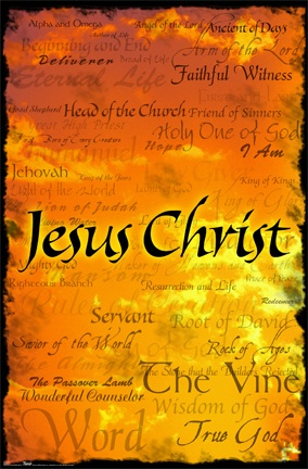 <3 Jesus Christ <3  Praise His Holy Name! Thought you would like this :) Esp. since you have been wanting to study the names of God recently :)