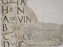 The original Roman calendar is attributed Romulus, the mythical founder of Rome around 753 BC. Unlike currently used dates, which are numbered sequentially from the beginning of the month, the Romans counted backwards from 3 fixed points: the Nones, the Ides and the Kalends of the following month.