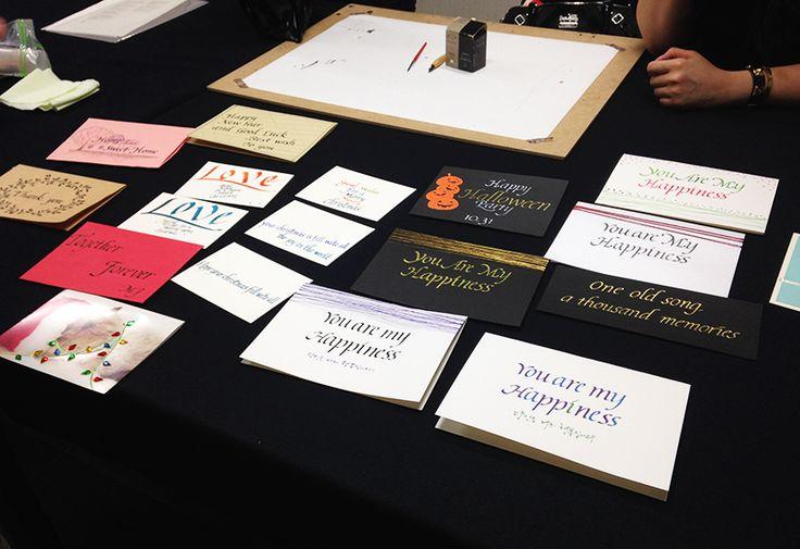 alphabet Calligraphy_카드만들기