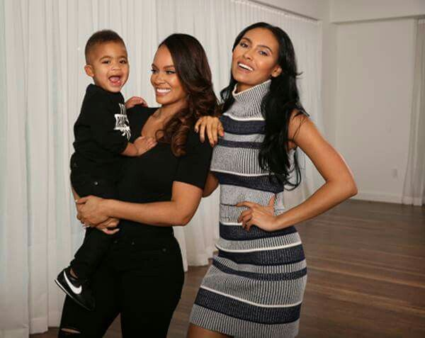 Evelyn Lozada With Beloved Daughter Shaniece & Beloved Son Carl Leo Crawford