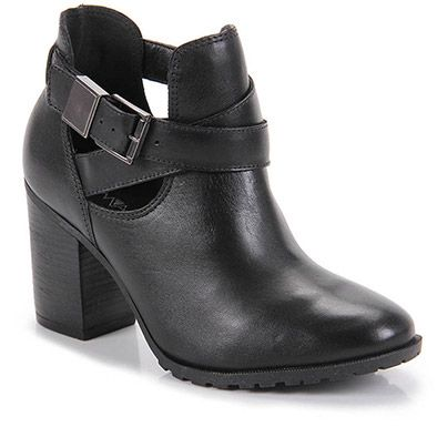 Bota Cut Out Feminina Ramarim - Preto