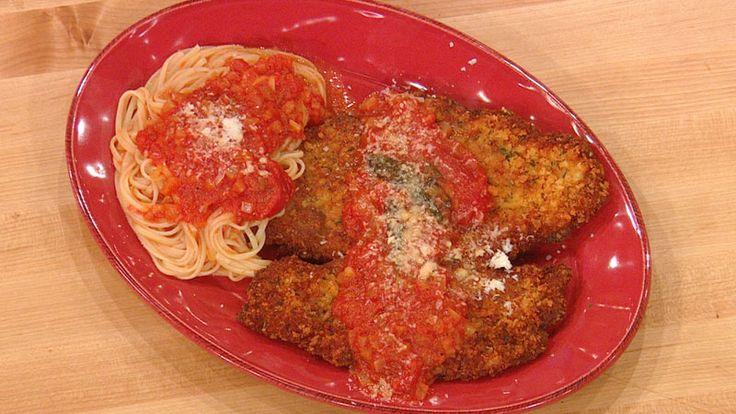 Chicken Parmigiana #whatsfordinner #chickenparm