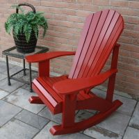 Adirondack Rocking Chair plans - The Barley Harvest Woodworking