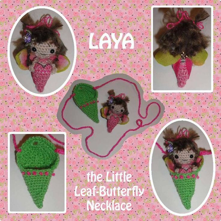 Laya the Little Leaf Butterfly Necklace