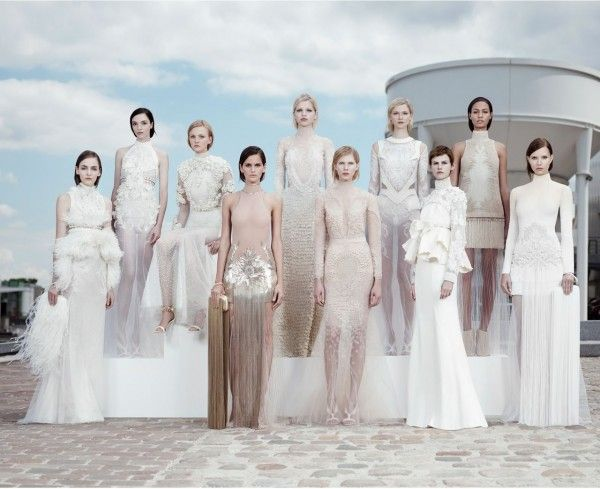One of my favorite collections of all time! Riccardo Tischi for Givenchy Haute Couture.