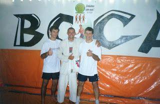 Lutador de jiu-jitsu: Com Ricardo Dela Riva e moacir boca oliveira