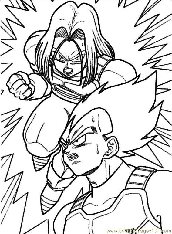 Marvelous Dragon Ball Z Coloring Books For Sale