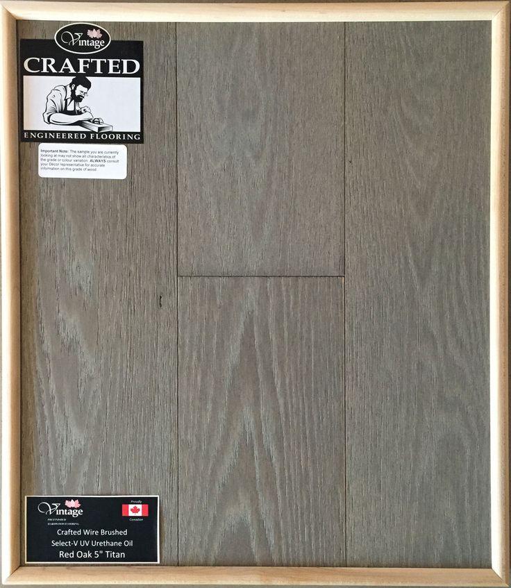 "Included Engineered Hardwood Flooring - Red Oak 5"" Titan"