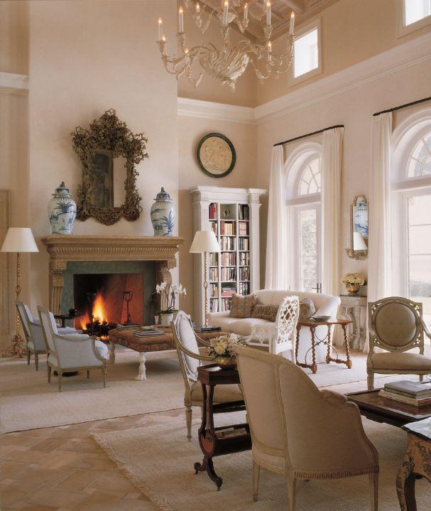 Bunny Williams Interior Design   bunny williams formal living room neutrals