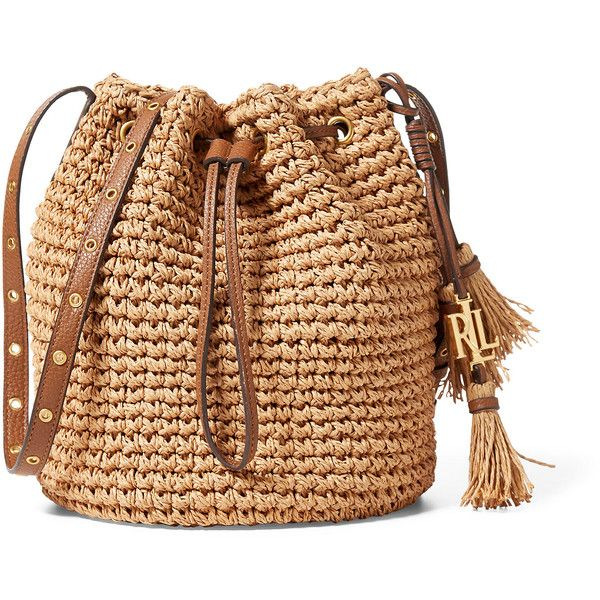 Straw Janice Bag ❤ liked on Polyvore featuring bags, handbags, straw handbags, straw purse, straw bag, beige handbags and beige purse