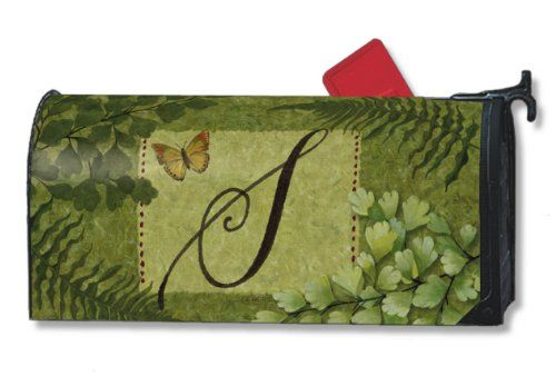 Mailbox Covers  Nature s Script Monogram S Magnetic Mailbox Cover Porch Makeover ** This is an Amazon Associate's Pin. Locate the item on the website simply by clicking the VISIT button