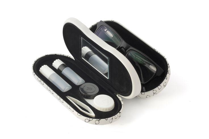Estuche para gafas y lentillas Twin estampado, un regalo con el que sorprenderás de la mejor manera posible.