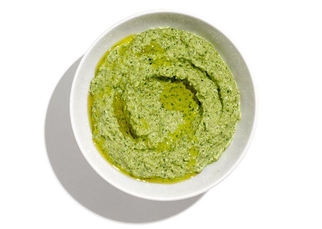 Pestó með sólblómafræ