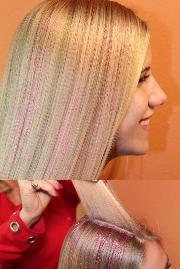 Hot pink hair you can wear to work new trend in temporary