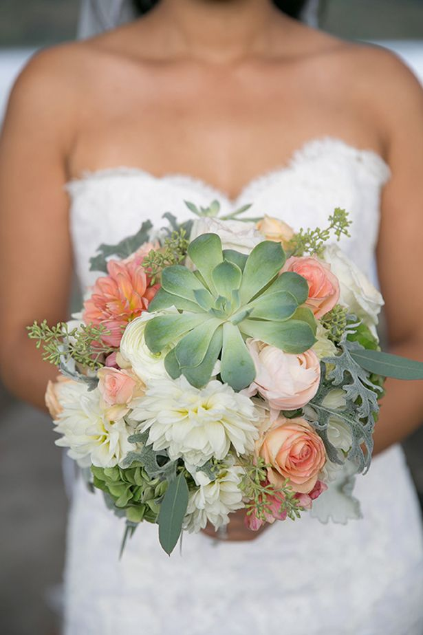 Succulent Bouquet ~  Barbara Rahal Photography, Divine Decor