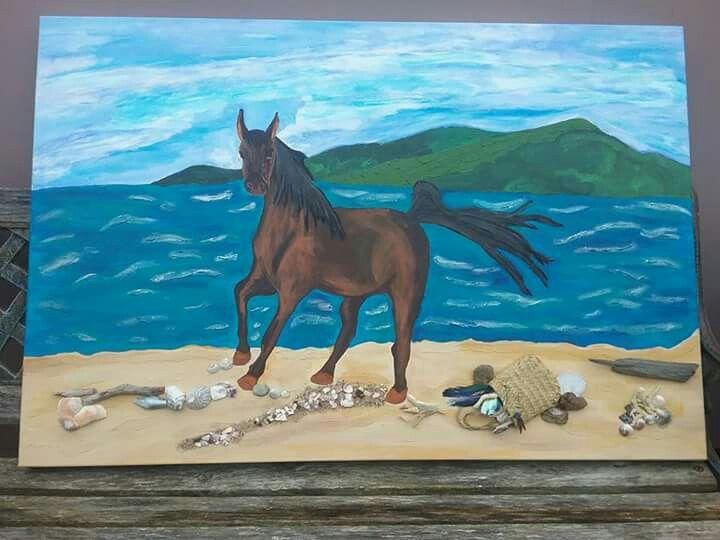 Eddie at Ohawini Bay Beach 😊